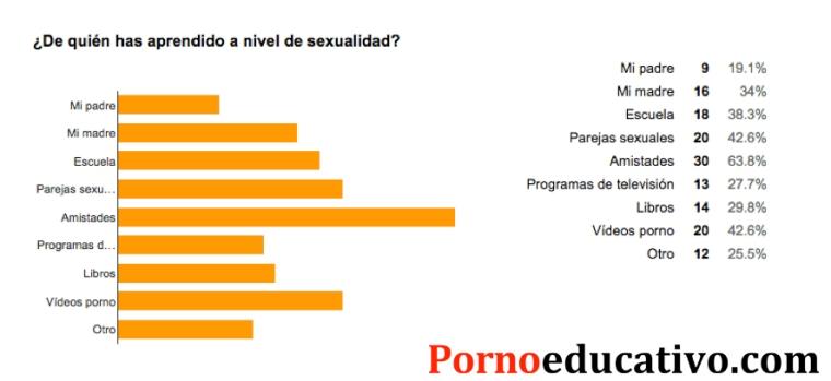 Estadisticas pornoeducativo