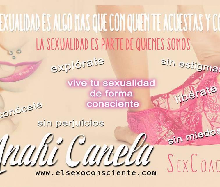 Anahí Canela, educadora sexual para adultos