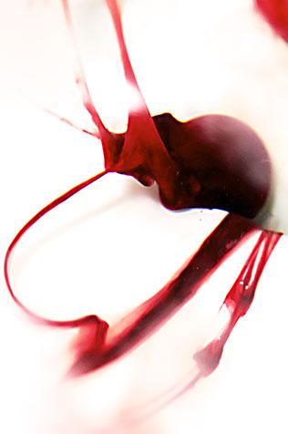 Arte menstrual de Beauty in Blood