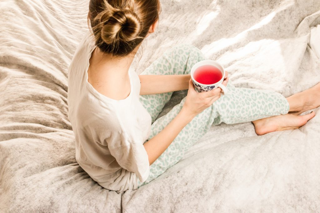 Relax tea for menstrual pain