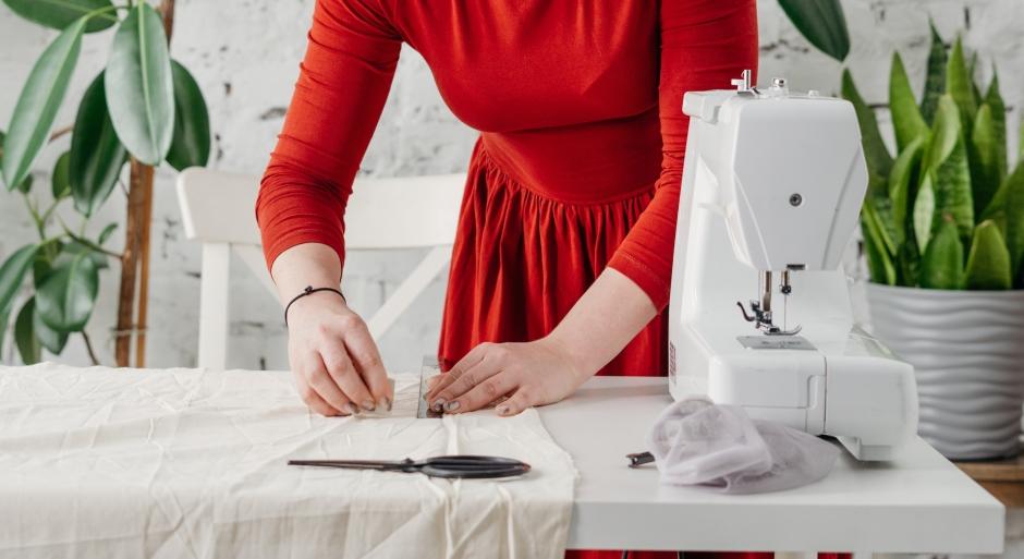 Como coser compresas